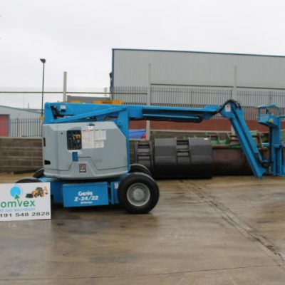 Genie Z 34/22 BI CHERRY PICK LIFT BOOM 12.5m REACH