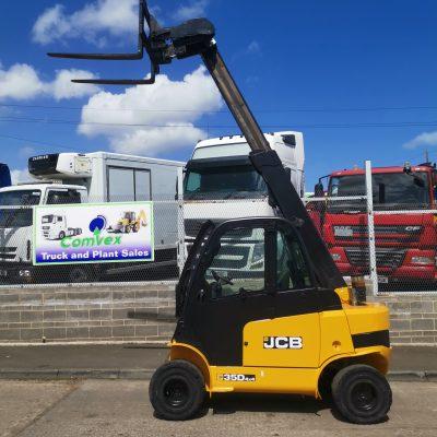 JCB TLT35D 4X4 TELETRUK FORKLIFT YOM 2012 5400 HRS